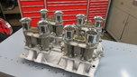 Oldsmobile Moon Intake Manifold With 4 Weber Carburetors  for sale $4,750