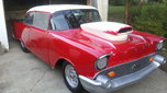 Nice Old 57 Chevy Drag Car, 509ci Chevy Engine