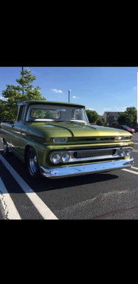 1961 Chevy C10 Shortbed Fleetside