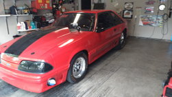 '91 Mustang GT BIG TIRE Drag Car