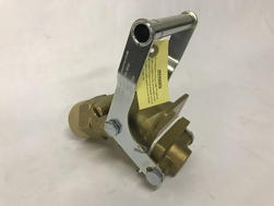 Wesco 272034 2 inch Brass Gate Valve Faucet (55 Gallon Drum
