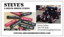 Steve's Labeled Shrink Tubing