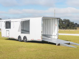Sundowner 2-Car Wedge Enclosed Car Trailer for Sale $39,900