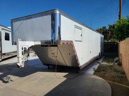 2015 38' Custom Built Aluminum Trailer