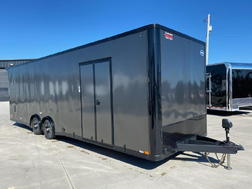 2018 United XLT 8.5X28 Extra Height Car/Racing Trailer