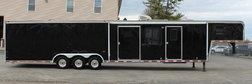 Used Living Quarter Gooseneck 1999 Haulmark Race Trailer
