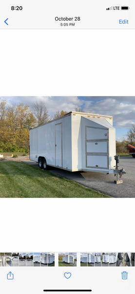 2013 Custom Sales Trailer,  Full Aluminum Frame  for Sale $33,500