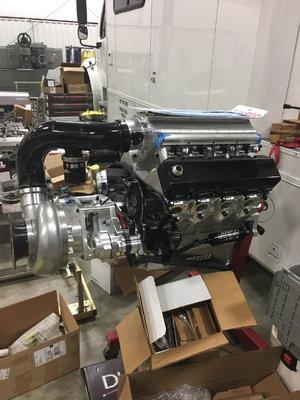 New pro charger engine 531 billet