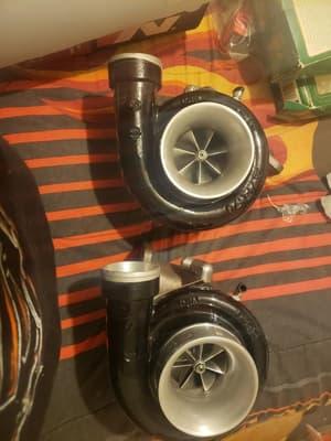 Garrett 6465 billet wheel turbos