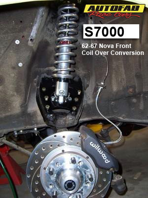 62-67 Front Nova Coil Over Conversion Kit  for Sale $235