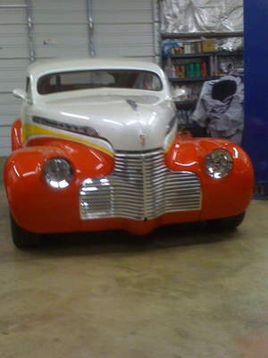1940 Chevy choptop custom street rod