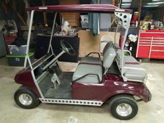1968 DODGE DART / Trailer & Golf Cart  for Sale $35,000
