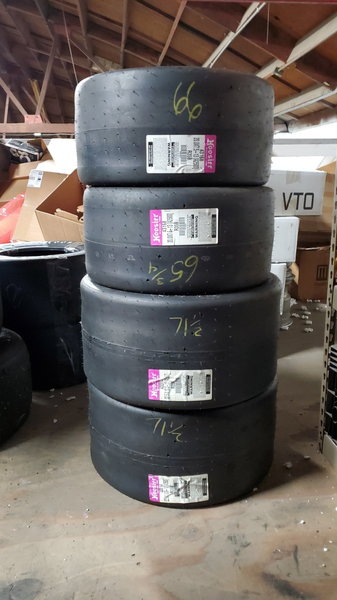 New unmounted Hoosier slicks  for Sale $825