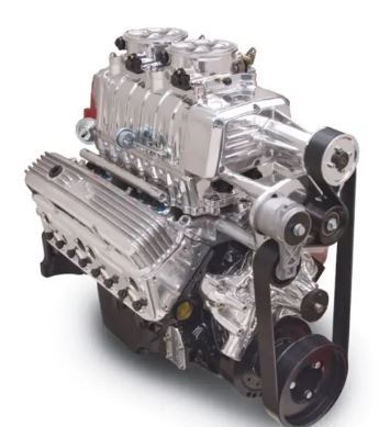 Complete EFI blower motor sbc edelbrock test dyno motor drop