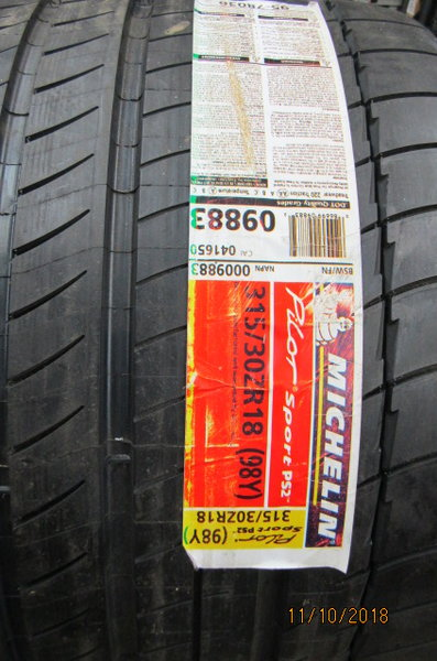 Michelin performance Tire  for Sale $675