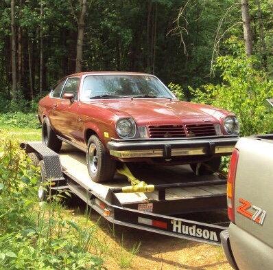 1975 Chevy Vega Street Legal Drag Car