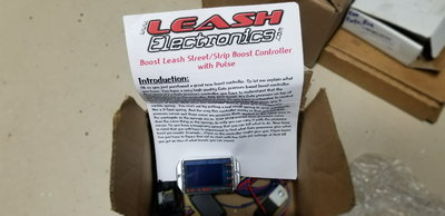 Leash boost controller
