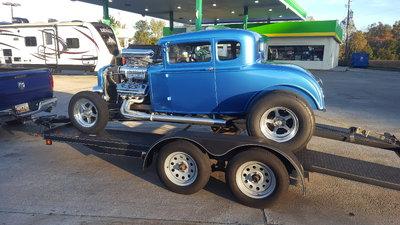 1930 Ford coupe all steel street rod HEMI