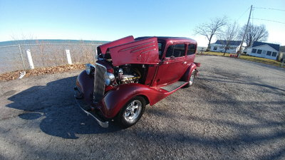 awesome steel1934 chevrolet 2dr sweet chevy TRADES?
