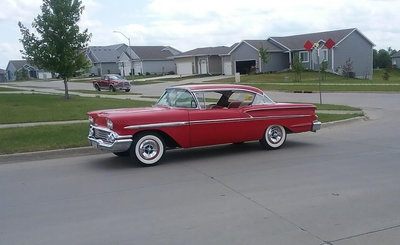 FOR SALE 1958 Chevy Belair Mild Custom