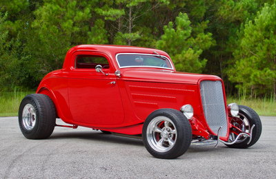 1934 Ford 3-Window Coupe 383 Stroker V8 / 405 HP