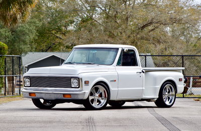 1972 Chevrolet C10 Step-Side Resto-Mod!