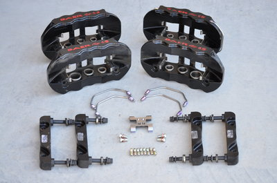 BAER 6-Piston Forged Calipers for C6 & C7, Like New!