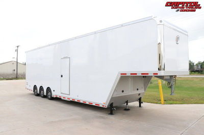 2021 inTech 40' All Aluminum Sprint Car Hauler
