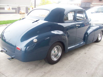 Nice 1948 Chevy Stylemaster Coupe-Runs Great Street Rod