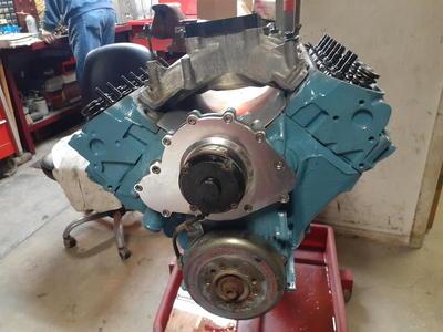 Pontiac 469 race motor