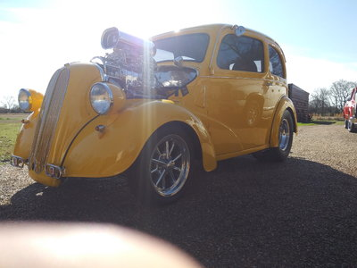1948 anglia blown