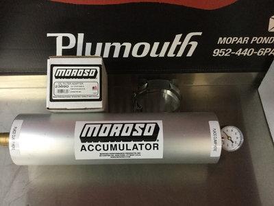 Morose Accumulator and oil Adapter