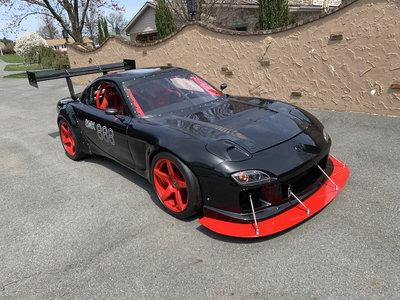 LS3 powered RX7 Racecar