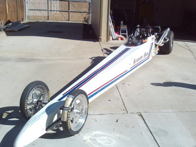 Fritz chassis rear engine Dragster LOWER PRICE