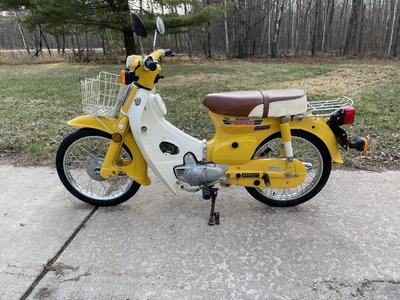 1981 Honda 70 Passport