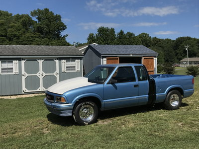 1996 GMC Sonoma extended cab