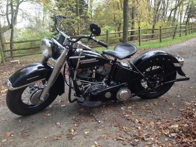 1952 Harley El Panhead