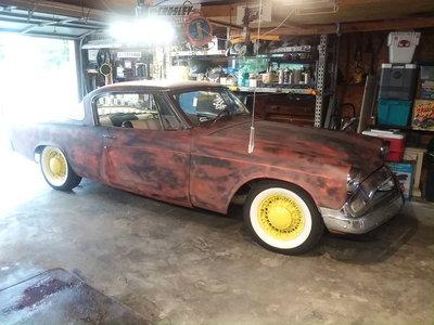 1955 Studebaker President V8 4sp