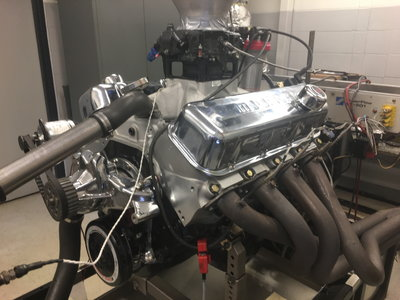 762 HP BBC engine complete
