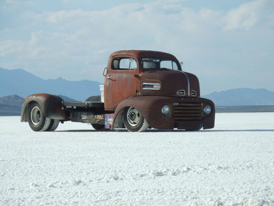 SOLD - 1949 Ford COE Hot Rod Truck - Sold