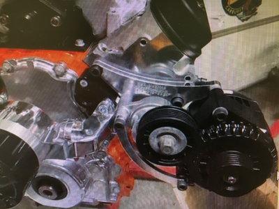 M&K MACHINE LS Alternator Bracket Drivers Side