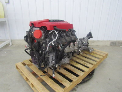 14 CAMARO ZL1 6.2L LSA SUPERCHARGED ENGINE W  /TR6060 30K MI