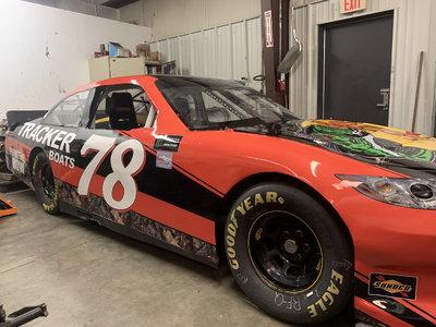NASCAR COT Road Race Car