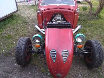 ***Real Rough Rusty Red Rat Rod***