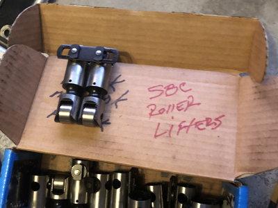 SBC Roller lifters.