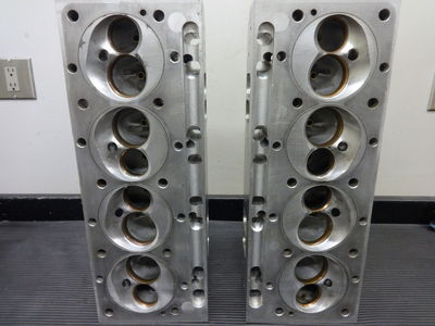 ALL PONTIAC HEADS, TITANIUM VALVES, JESEL ROCKER SYSTEM