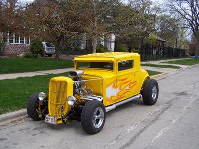 1931 American Graffiti coupe might  TRADE