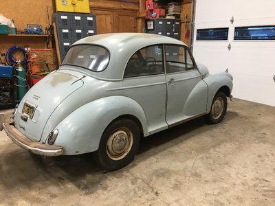 1960 Morris Minor 1000 2 door