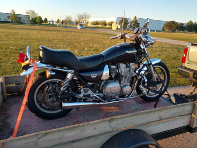 1982 Kawasaki 1000 ltd