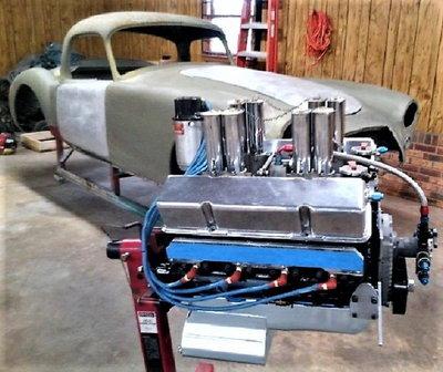 1958 MGA Coupe Gasser